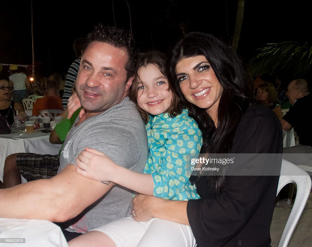 <a gi-track='captionPersonalityLinkClicked' href=/galleries/search?phrase=Teresa+Giudice&family=editorial&specificpeople=5912953 ng-click='$event.stopPropagation()'>Teresa Giudice</a> , <a gi-track='captionPersonalityLinkClicked' href=/galleries/search?phrase=Joe+Giudice&family=editorial&specificpeople=5978109 ng-click='$event.stopPropagation()'>Joe Giudice</a> and Gabriella Giudice at the Majestic Resort in Punta Cana on March 3, 2013 in UNSPECIFIED, Dominican Republic.