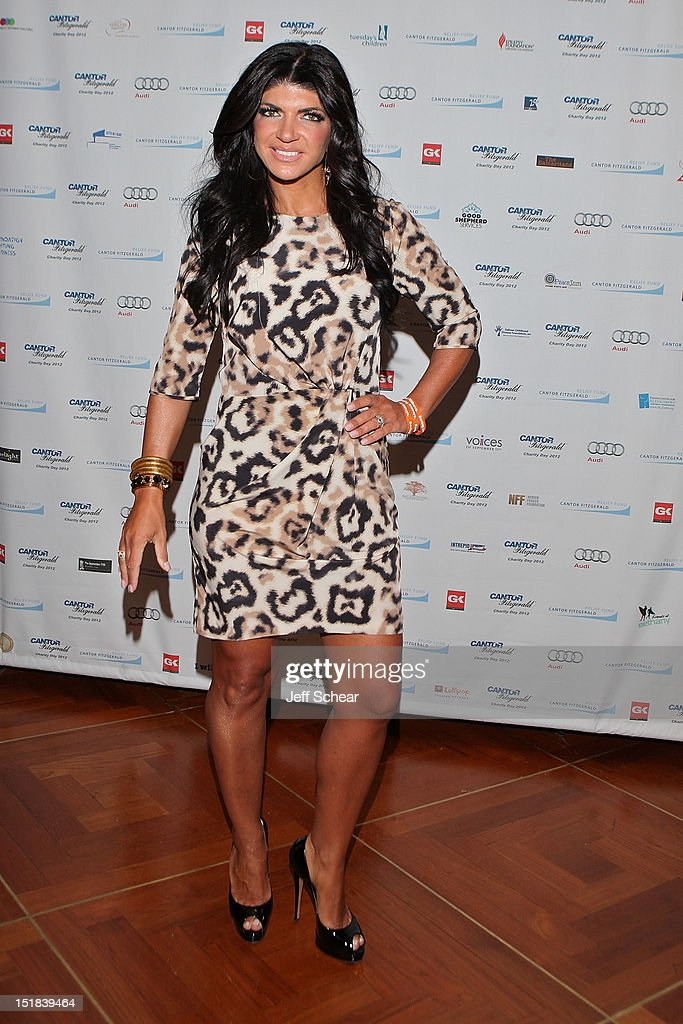 Teresa Guidice attends Annual Charity Day Hosted By Cantor Fitzgerald And BGC Partners on September 11 2012 in New York United States