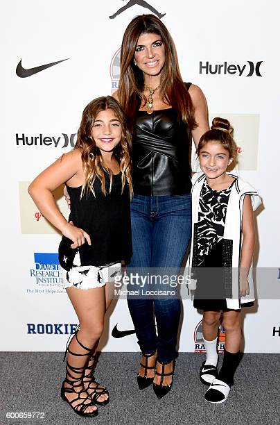 Teresa Guidice attends Rookie USA Presents Kids Rock during New York Fashion Week The Shows September 2016 at The Dock Skylight at Moynihan Station...