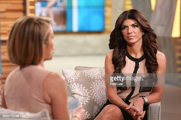 AMERICA Teresa Guidice is a guest on 'Good Morning America' 2/9/16 airing on the ABC Television Network AMY