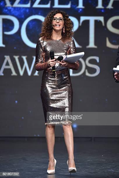Teresa Mannino attends the 'Gazzetta Awards' on December 17 2015 in Milan Italy