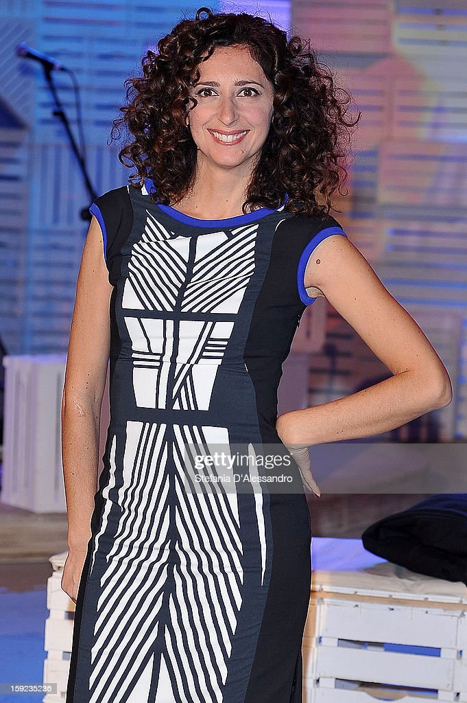 Teresa Mannino attends 'Zelig Circus 2013' Italian TV Show Photocall on January 10, 2013 in Milan, Italy.