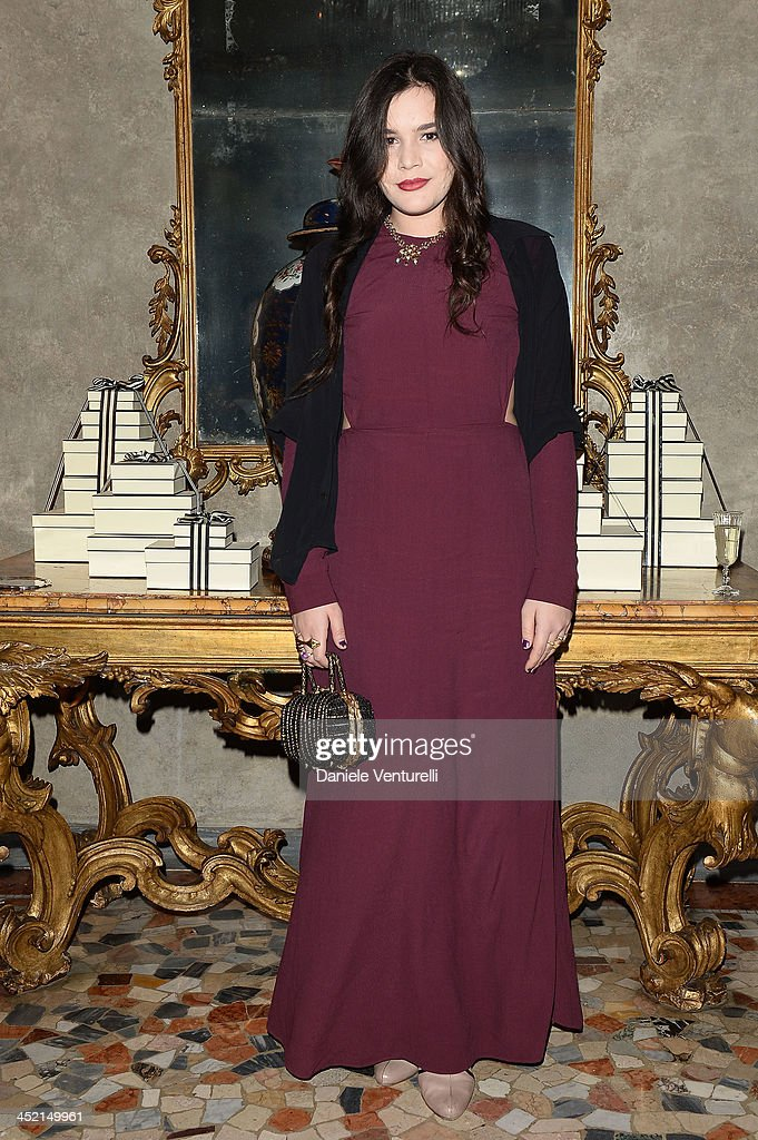 Teresa Missoni attends the 'Jo Malone London Scented' Dinner at Palazzo Crespi on November 26, 2013 in Milan, Italy.