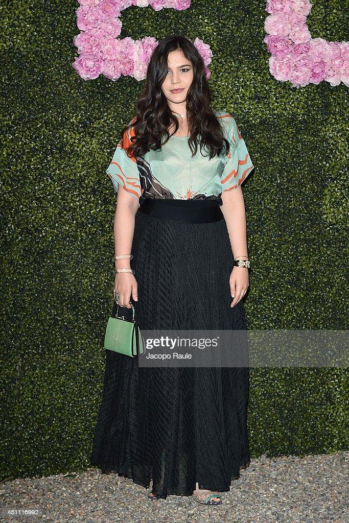 Teresa Missoni attends the Stella McCartney Garden Party during the Milan Fashion Week Menswear Spring/Summer 2015 on June 23, 2014 in Milan, Italy.