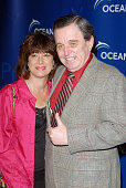 Teresa Modmack and actor Jerry Mathers arrive to the annual Oceana Partner's Awards Gala honoring former Vice President Al Gore at the home of Jena...
