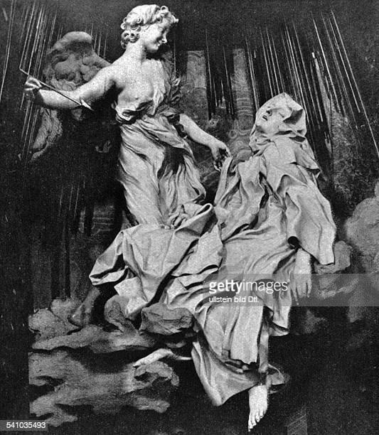 Teresa of Ávila*2803151504101582Spanish mystic Roman Catholic saint Carmelite nunMarble sculpture 'Ecstasy of Saint Teresa' by Gian Lorenzo Bernini...