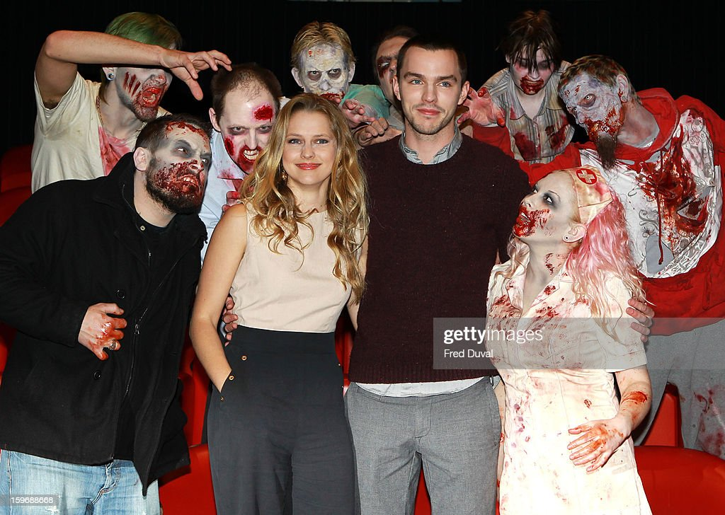 <a gi-track='captionPersonalityLinkClicked' href=/galleries/search?phrase=Teresa+Palmer&family=editorial&specificpeople=612319 ng-click='$event.stopPropagation()'>Teresa Palmer</a> and Nicolas Palmer attend the photocall for 'Warm Bodies' at Soho Hotel on January 18, 2013 in London, England.
