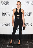 Teresa Palmer arrives at the David Jones Autumn/Winter 2015 Collection Launch at David Jones Elizabeth Street Store on February 4 2015 in Sydney...