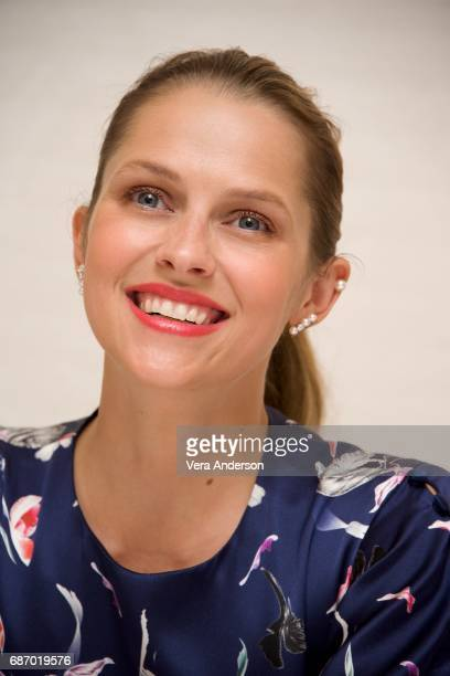 Teresa Palmer at the 'Berlin Syndrome' press conference at the Four Seasons Hotel on May 22 2017 in Beverly Hills California