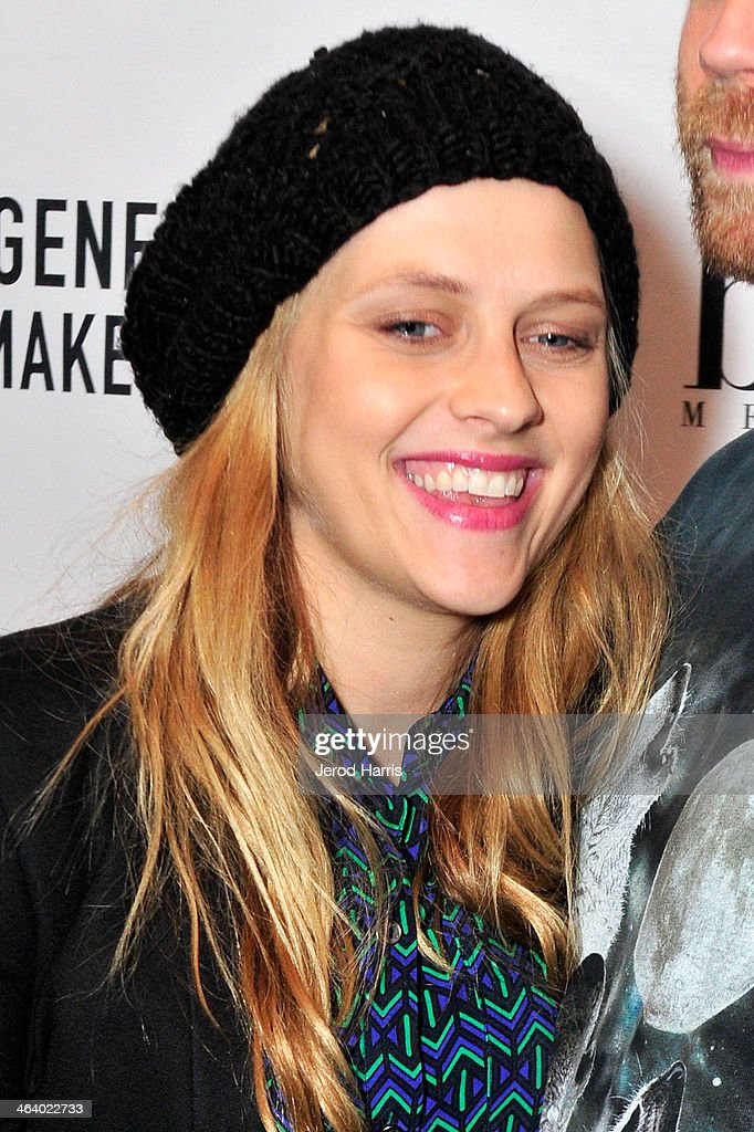 <a gi-track='captionPersonalityLinkClicked' href=/galleries/search?phrase=Teresa+Palmer&family=editorial&specificpeople=612319 ng-click='$event.stopPropagation()'>Teresa Palmer</a> attends 'Happy Christmas' Premiere Party - 2014 Park City on January 19, 2014 in Park City, Utah.