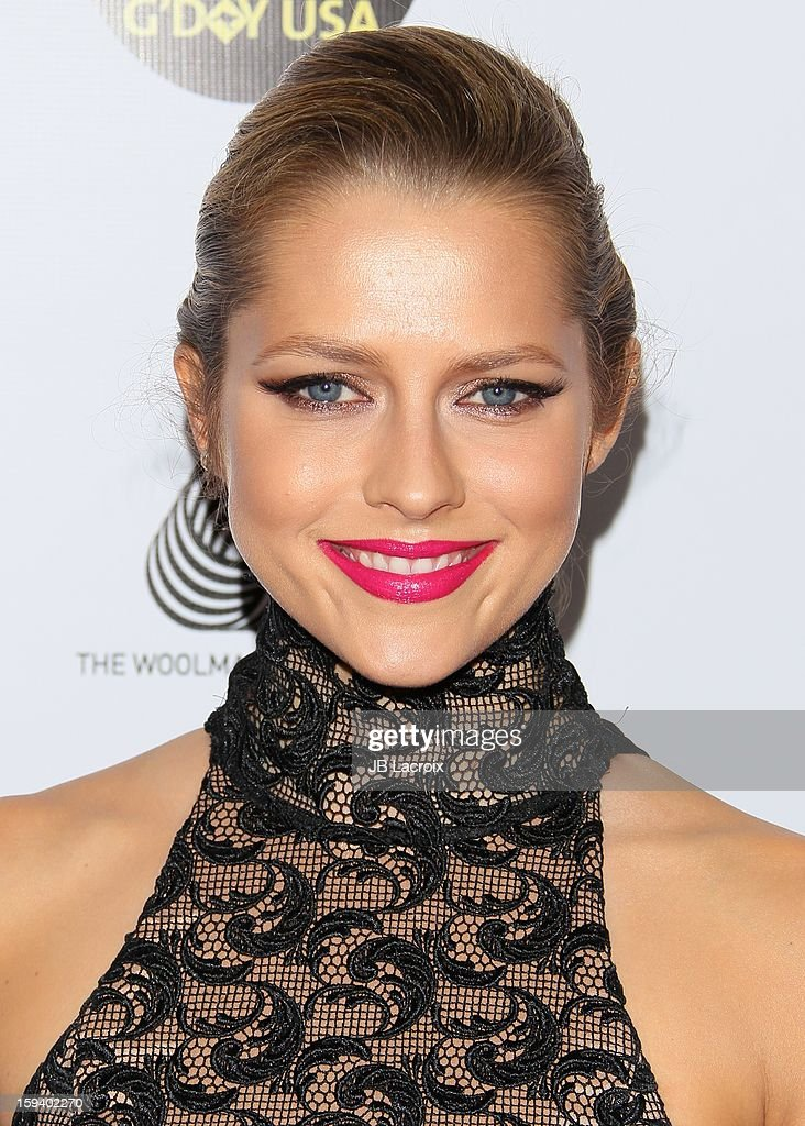 Teresa Palmer attends the 2013 G'Day USA Black Tie Gala at JW Marriott Los Angeles at L.A. LIVE on January 12, 2013 in Los Angeles, California.