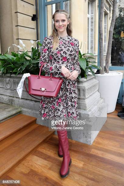 Teresa Palmer attends the Valentino show as part of the Paris Fashion Week Womenswear Fall/Winter 2017/2018 on March 5 2017 in Paris France