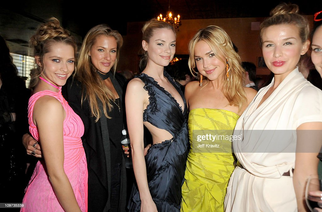 Teresa Palmer Candace Kroslak Jaime King Arielle Kebbel and Tahyna Tozzi attendsLos Angeles premiere of 'Take Me Home Tonight' at The Conga Room at...