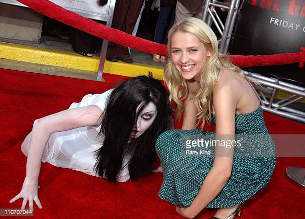 Teresa Palmer during Columbia Pictures 'The Grudge 2' Premiere at Knott's Scary Farm at Knott's Scary Farm in Buena Park California United States