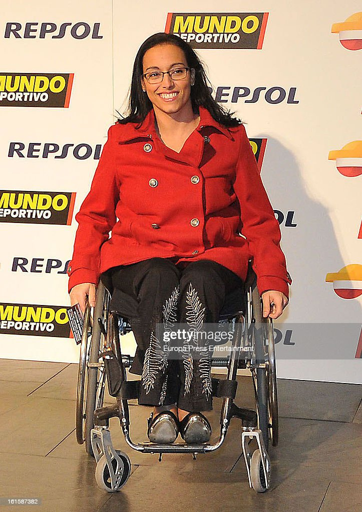 Teresa Perales attends the Sport Annual Gala In Barcelona at palau de Congresos on February 11, 2013 in Barcelona, Spain.