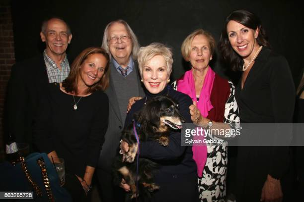 Teresa Roberts Wilbert Miller Peter Marous Bagmar Miller Diane Langer and Leslie Granger attend 'Cocktails and Canines' A Fall Benefit Supporting the...
