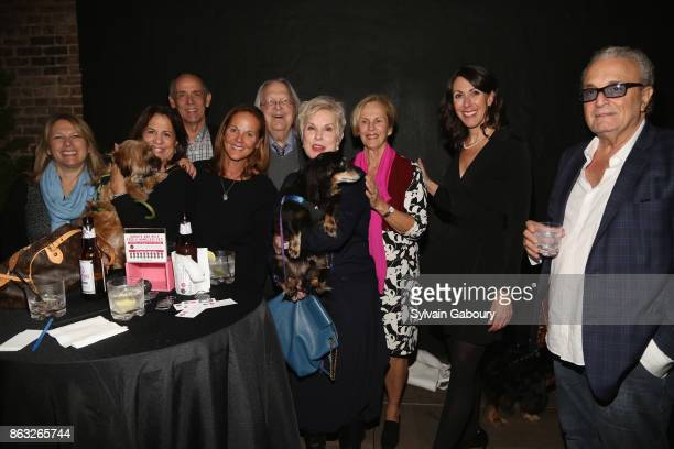Teresa Roberts Wilbert Miller Peter Marous Bagmar Miller Diane Langer Leslie Granger and Ira Gross attend 'Cocktails and Canines' A Fall Benefit...