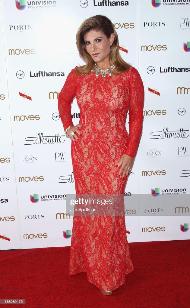 Teresa Rodríguez attends the New York Moves Magazine's 10th Anniversary Power Women Gala at the Grand Hyatt New York on November 14, 2013 in New York City.