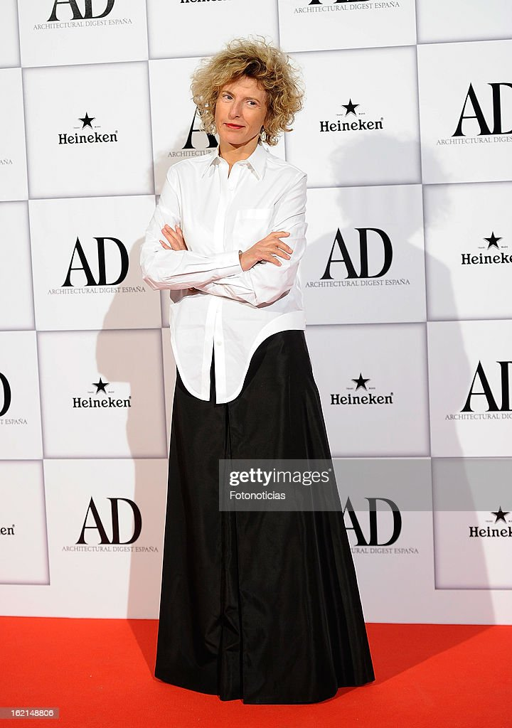 Teresa Sapey attends AD Awards 2013 at the Casino de Madrid on February 19, 2013 in Madrid, Spain.