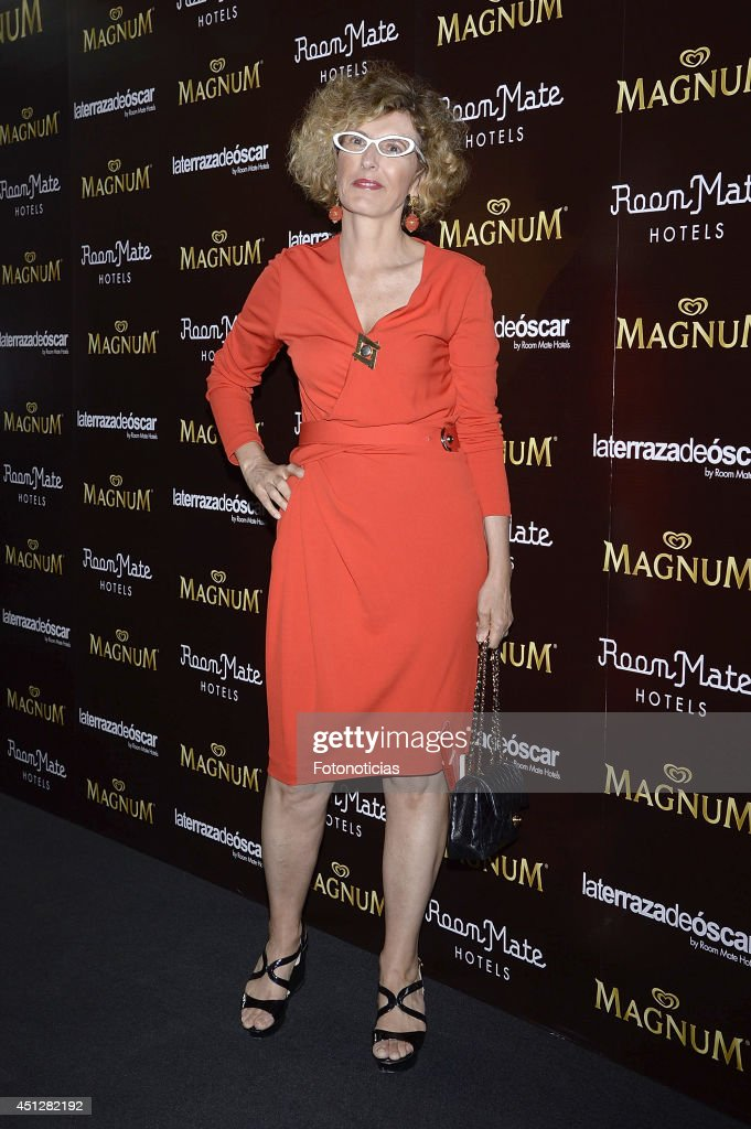 Teresa Sapey attends the 'Chocolate Opening Party By Magnum' at the Room Mate Oscar Hotel on June 26, 2014 in Madrid, Spain.