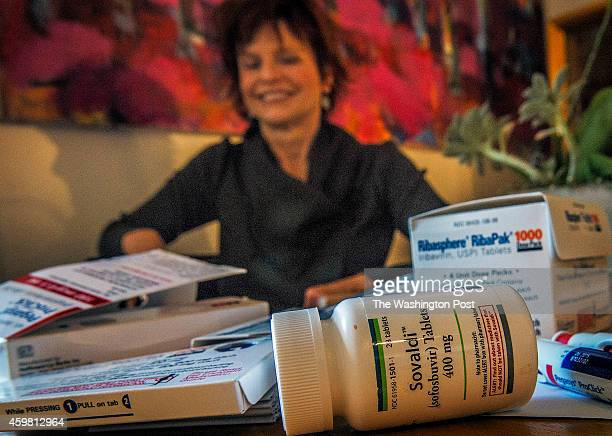 Teri Addabbo who was cured of Hepatitis C with some of her medications on November 2014 in Washington DC