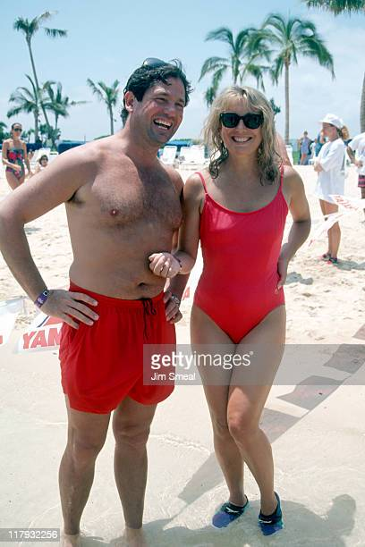 Teri Garr and her Fiance during Celebrity Sport Invitational at Ritz Carlton in Mauna Lani Hawaii United States