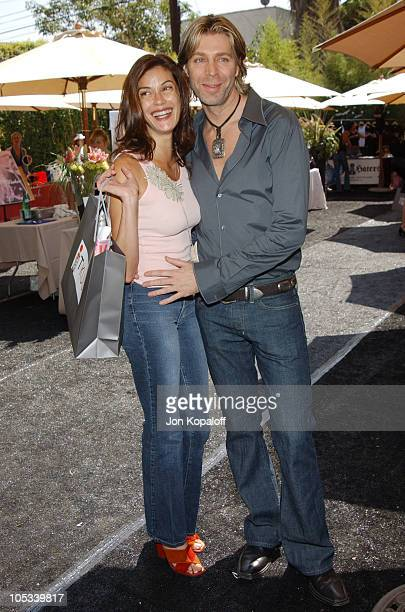 Teri Hatcher and Chaz Dean during Style Lounge Honoring Heal the Bay Presented by Kari Feinstein PR Day 1 at Chaz Dean Studio in Hollywood California...