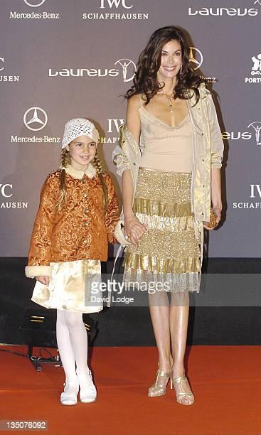 Teri Hatcher and daughter Emerson during Vogue Party Portugal Arrivals at Estalagem Farol Design Hotel in Estoril Portugal