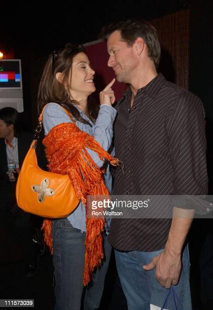 Teri Hatcher and James Denton during 11th Annual Screen Actors Guild Awards Rehearsals at Shrine Auditorium in Los Angeles California United States