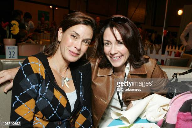 Teri Hatcher and Patricia Heaton during Walt Disney Pictures Presents 'Chicken Little' World Premiere at El Capitan in Los Angeles California United...