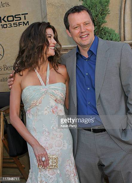 Teri Hatcher and Steven Culp during Festival of Arts Pageant of the Masters Gala Benefit Hosted by Teri Hatcher at Irvine Bowl in Laguna Beach...