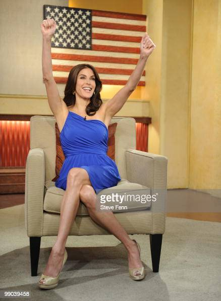 AMERICA Teri Hatcher appeared on GOOD MORNING AMERICA 5/11/10 airing on the ABC Television Network GM10 TERI