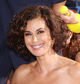 Teri Hatcher arrives at the Los Angeles premiere of 'Planes' held at the El Capitan Theatre on August 5 2013 in Hollywood California