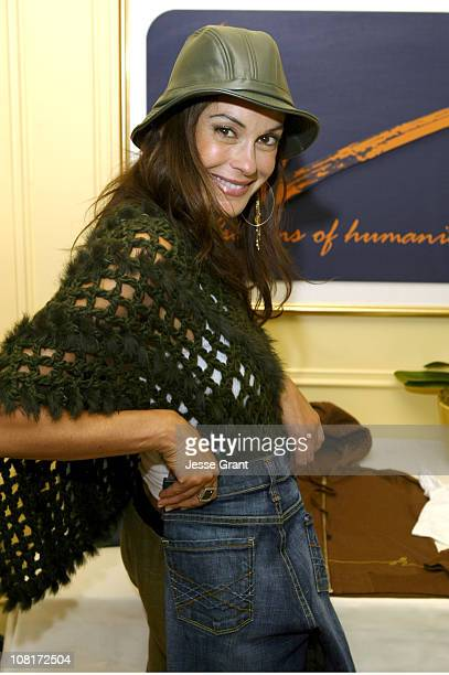 Teri Hatcher at Citizens of Humanity during HBO Luxury Lounge Day 1 at Peninsula Hotel in Beverly Hills California United States