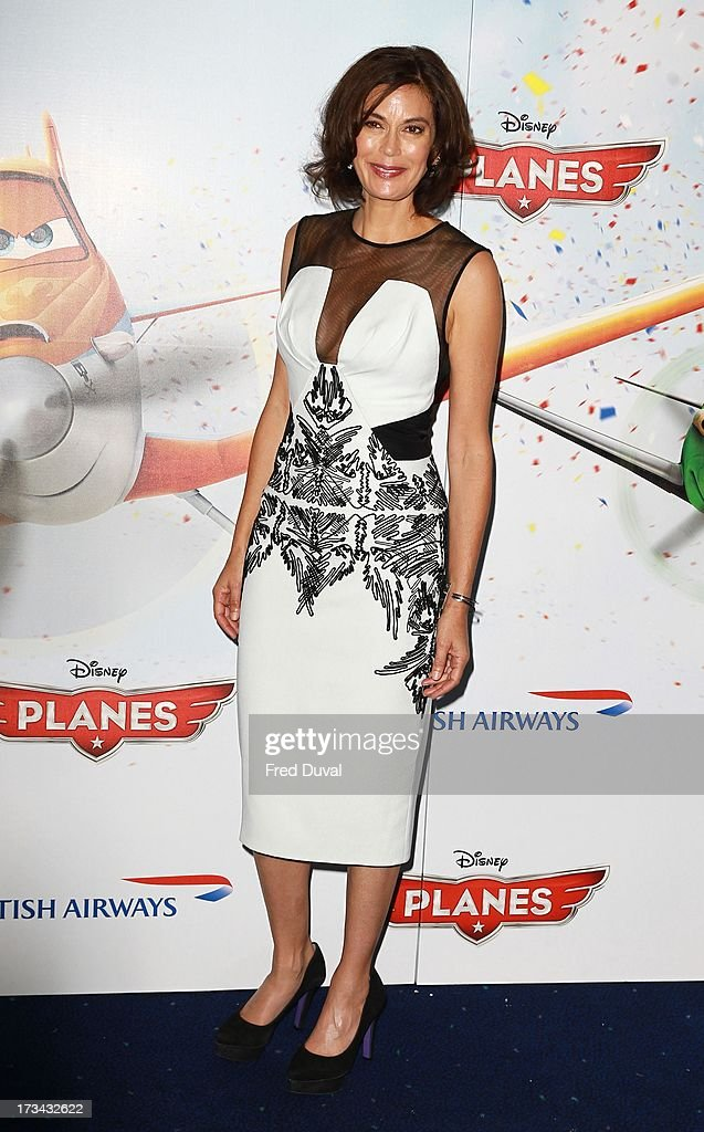 Teri Hatcher attends special screening of 'Planes' at Odeon Leicester Square on July 14, 2013 in London, England.
