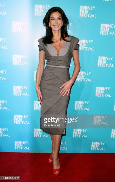 Teri Hatcher attends the Australian premiere of 'Coraline' as part of the Sydney Film Festival 2009 at Greater Union George Street on June 10 2009 in...