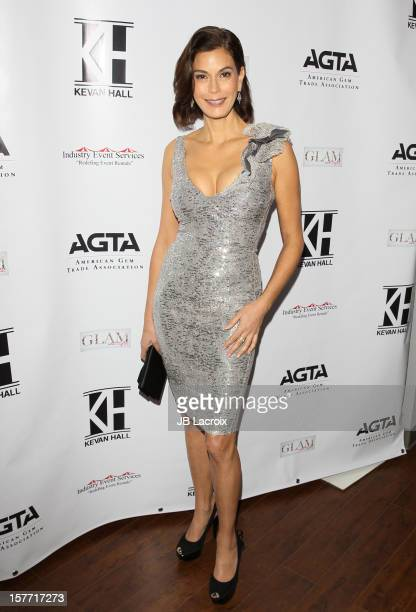 Teri Hatcher attends the Kevan Hall Presents His Spring 2013 Collection on December 5 2012 in Los Angeles California