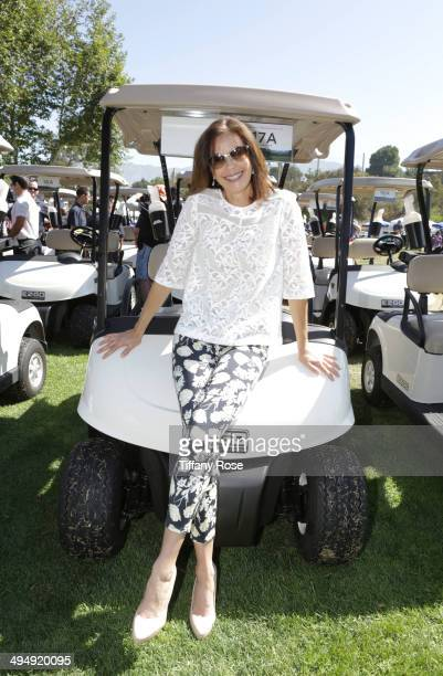 Teri Hatcher attends the Los Angeles Police Memorial Foundation Celebrity Golf Tournament Family Fun Day Hosted By Dennis Quaid at Brookside Golf...