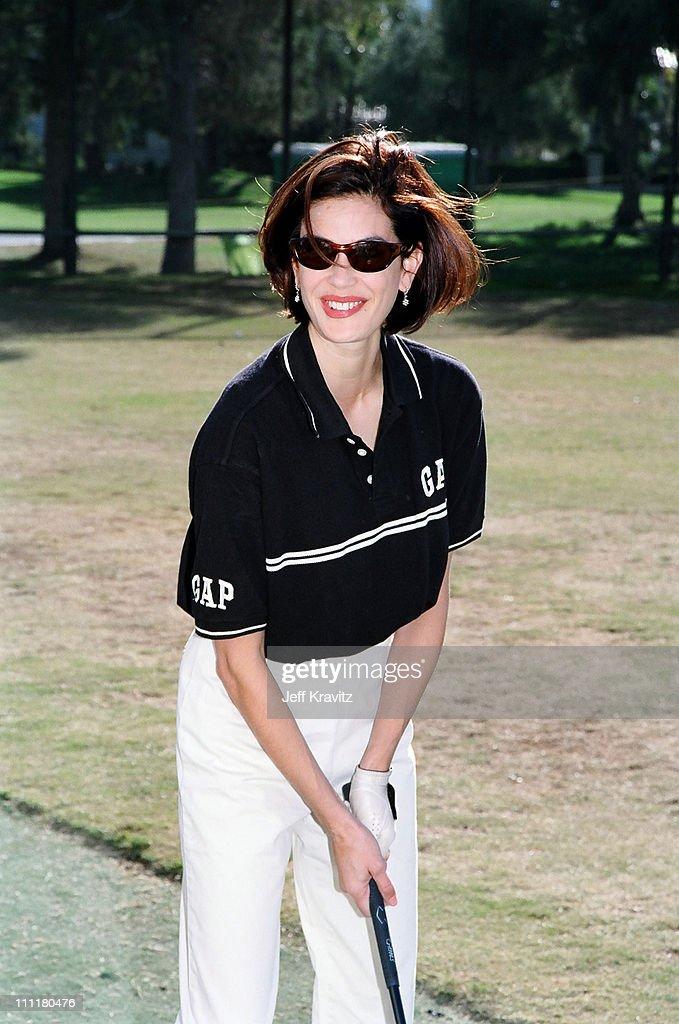 Teri Hatcher during 1998 Fairway to Heaven Golf Tournament in Las Vegas, Nevada, United States.