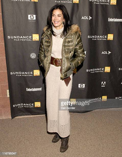 Teri Hatcher during 2007 Sundance Film Festival 'Resurrecting The Champ' Premiere at Eccles in Park City Utah United States