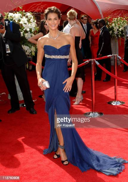 Teri Hatcher during 57th Annual Primetime Emmy Awards Arrivals at The Shrine in Los Angeles California United States