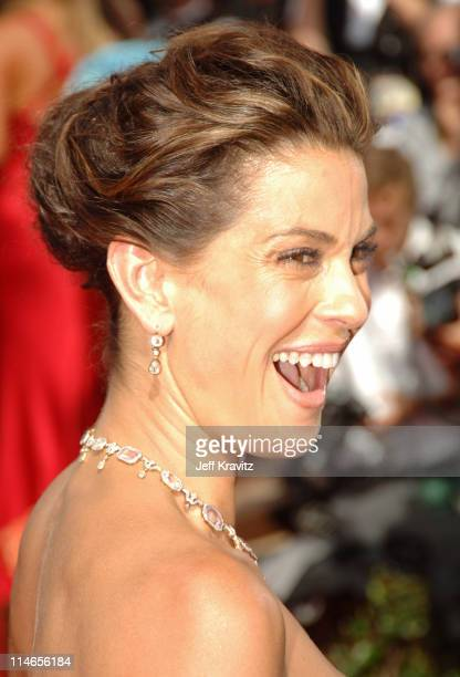 Teri Hatcher during 57th Annual Primetime Emmy Awards Red Carpet at The Shrine in Los Angeles California United States