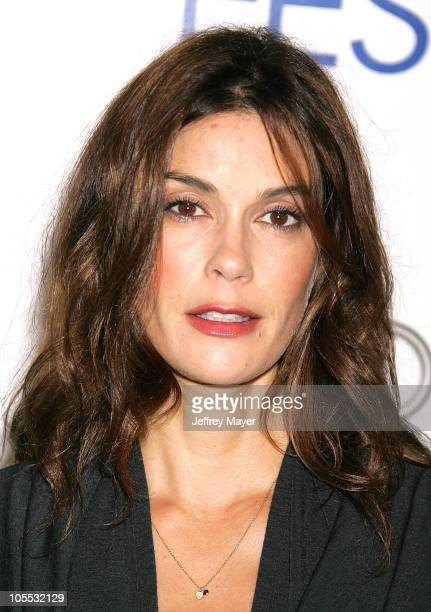Teri Hatcher during AFI Fest 2005 Screening of 'Transamerica' Arrivals at Arclight Hollywood Cinerama Dome in Hollywood California United States