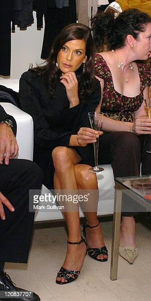 Teri Hatcher during 'Desperate Housewives' Series Premiere Party Inside at Barney's in Beverly Hills California United States
