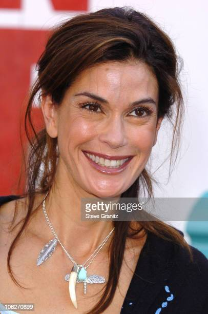 Teri Hatcher during Disney's 'Chicken Little' Los Angeles Premiere Arrivals at El Capitan in Hollywood California United States