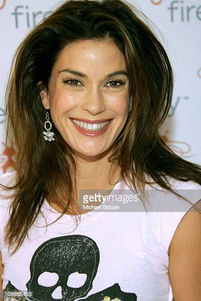 Teri Hatcher during Firefly and Clothes Off Your Back Trick or Treat Hosted by Jane Kaczmarek and Bradley Whitford at Wattles Mansion in Hollywood...