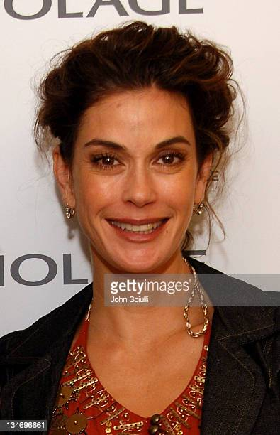 Teri Hatcher during Glamour Magazine Presents Biolage Golden Globe Style Lounge Day 1 at L' Ermitage in Beverly Hills CA United States