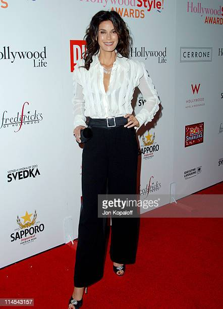 Teri Hatcher during Movieline Hollywood Life Style Awards Arrivals at Pacific Design Center in West Hollywood California United States