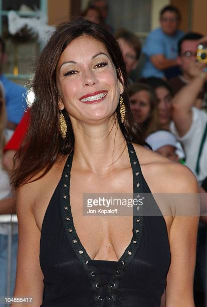 Teri Hatcher during 'Pirates of the Caribbean The Curse of the Black Pearl' World Premiere at Disneyland in Anaheim California United States