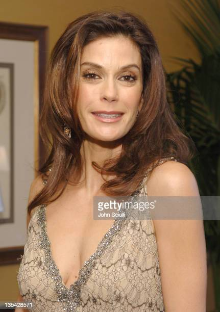 Teri Hatcher during Starlight Starbright Children's Foundation Honor Dakota Fanning at A Stellar Night Gala Red Carpet and Inside at Beverly Hilton...